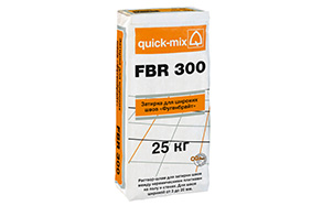Затирка для швов quick-mix FBR 300 бежевая, 25 кг